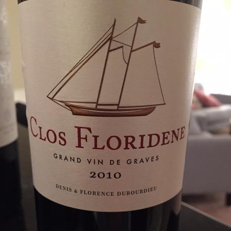Clos Floridene Graves Red Bordeaux Blend 2015
