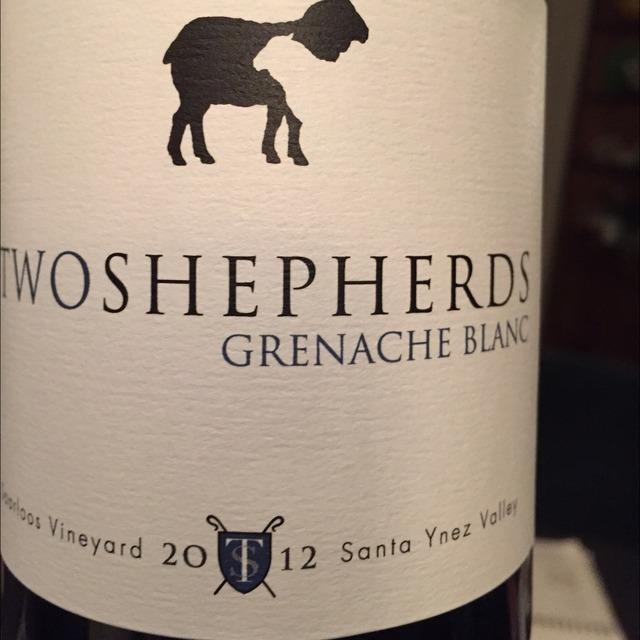 Saarloos Vineyard Grenache Blanc 2012