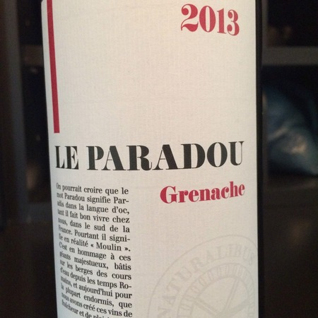 Le Paradou Vin de Pays d'Oc Grenache 2013 (1500ml)
