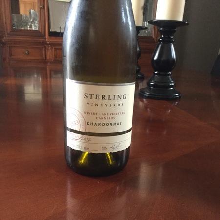 Sterling Vineyards Winery Lake Vineyard Carneros  Chardonnay 1987 (1500ml)
