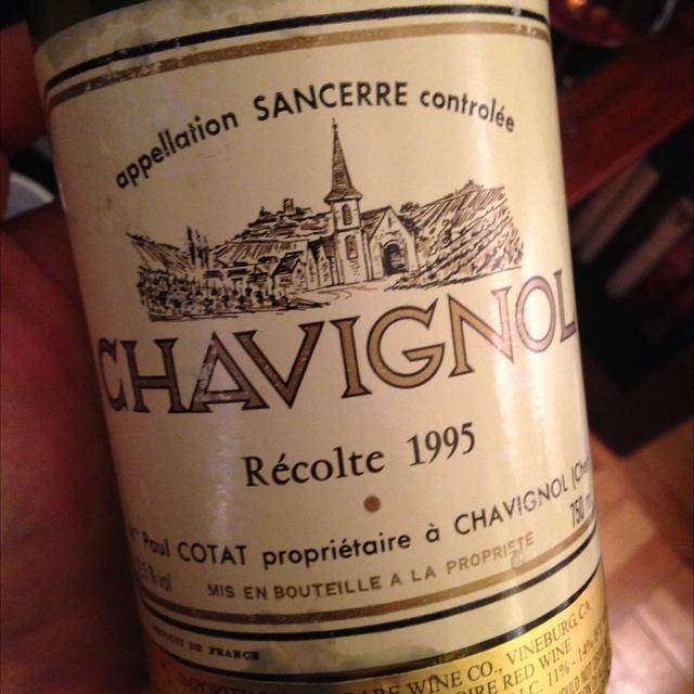 Chavignol Reserve des Monts Damnes Sancerre Sauvignon Blanc 2014