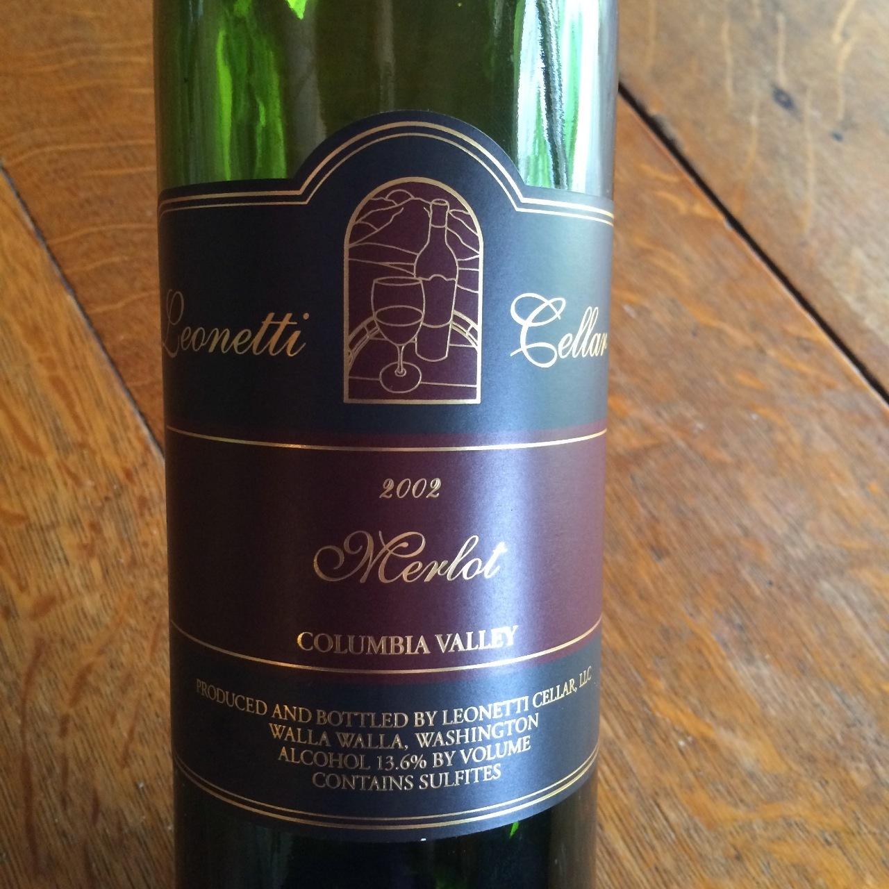 Leonetti Cellar Columbia Valley Merlot 2002