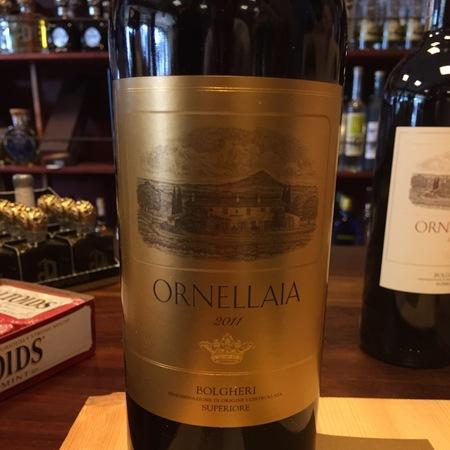 Tenuta dell'Ornellaia Bolgheri Red Bordeaux Blend 2011