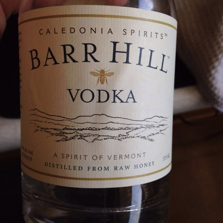 Caledonia Spirits Barr Hill Vodka NV