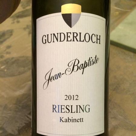 Gunderloch Jean Baptiste Kabinett Riesling NV