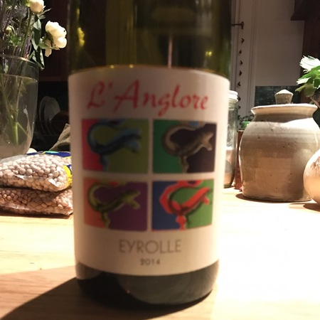 Eric Pfifferling (Domaine de l'Anglore) L'Anglore Eyrolle Lirac Grenache Mourvedre 2014