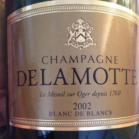 Delamotte Brut Blanc de Blancs Champagne Chardonnay 2002