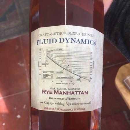 Fluid Dynamics Rye Manhattan Barreled Cocktail NV (200ml)