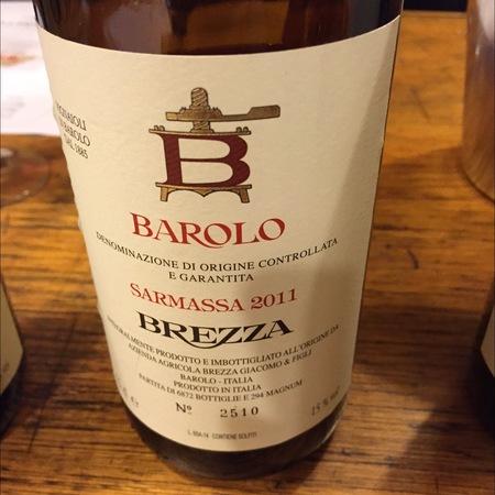 Giacomo Brezza & Figli Bricco Sarmassa Barolo Nebbiolo 2011