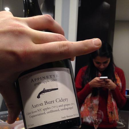 Aaron Burr Cidery Appinette Grape-Apple Cider NV