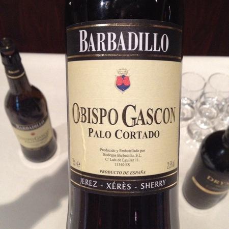 Antonio Barbadillo Obispo Gascon Palo Cortado Jerez-Xérès-Sherry Palomino Fino NV