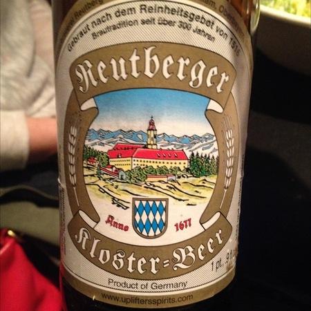 Reutberger Kloster Beer NV (500ml)