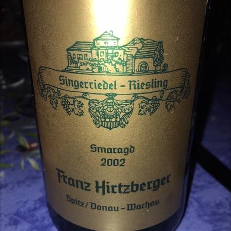 Franz Hirtzberger Singerriedel Smaragd Riesling 2015