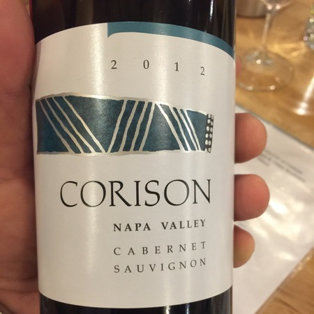 Corison Napa Valley Cabernet Sauvignon 2012