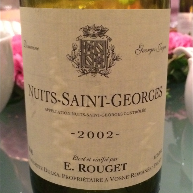 Nuits St. Georges Pinot Noir 2012