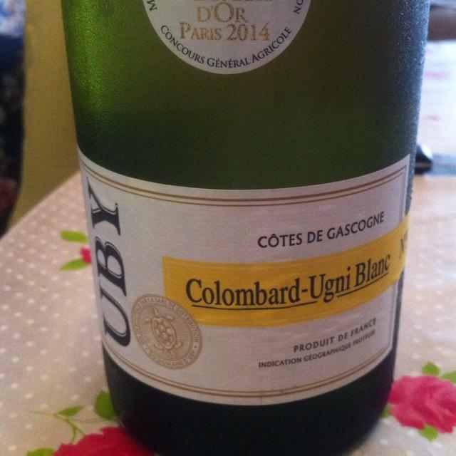 Vin de Pays des Côtes de Gascogne Colombard-Ugni Blanc No. 3 2014