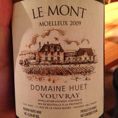 Domaine Huet Le Mont Moelleux Vouvray Chenin Blanc 2015