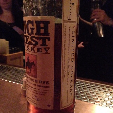 High West Distillery Rendezvous Rye Straight Rye Whiskey NV