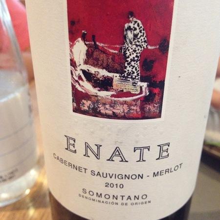 Enate Somontano Cabernet Sauvignon-Merlot Blend 2013