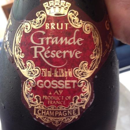 Gosset Grande Réserve Brut Champagne Blend NV