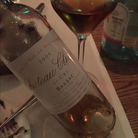 Château Climens Barsac 1er Cru Sémillon-Sauvignon Blanc Blend 2001 (375ml)