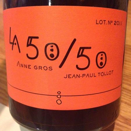 Domaine Anne Gros & Jean-Paul Tollot La 50/50 Côtes du Brian Carignane-Cinsault Blend  2011