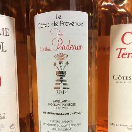 Château Pradeaux Le Côtes de Provence Rosé Blend 2016