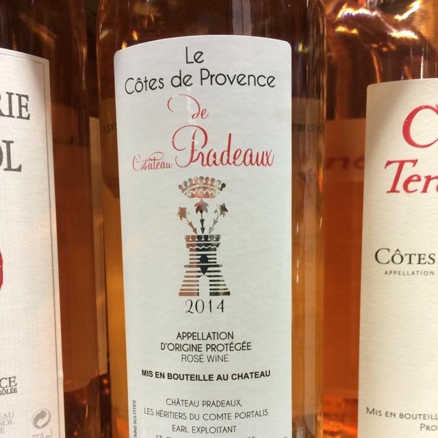 Le Côtes de Provence Rosé Blend 2015