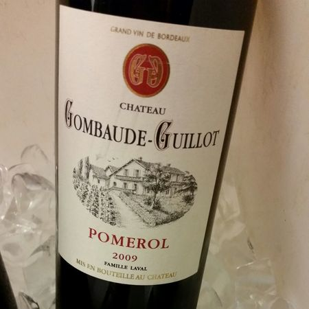 Château Gombaude-Guillot Pomerol Red Bordeaux Blend 2009
