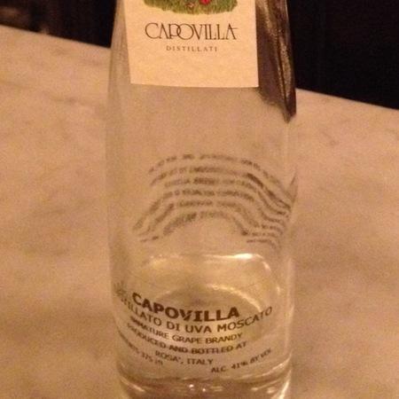 Capovilla Uva Moscato Grape Brandy NV (375ml)