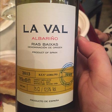 Bodegas La Val Rías Baixas Albariño 2016