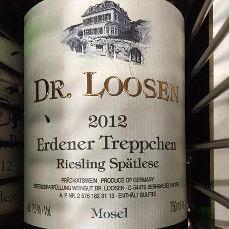 Dr. Loosen  Erdener Treppchen Spätlese Riesling NV