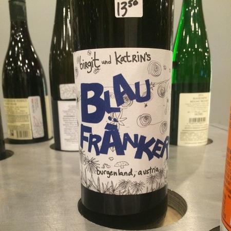 Birgit und Katrin's Burgenland Blau Fränker 2015 (1000ml)