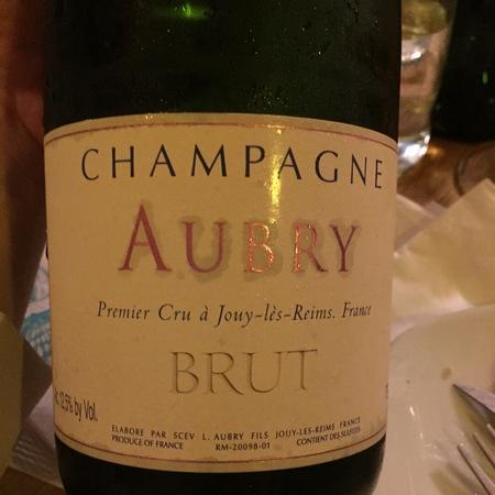 L. Aubry Fils Brut Champagne Blend NV
