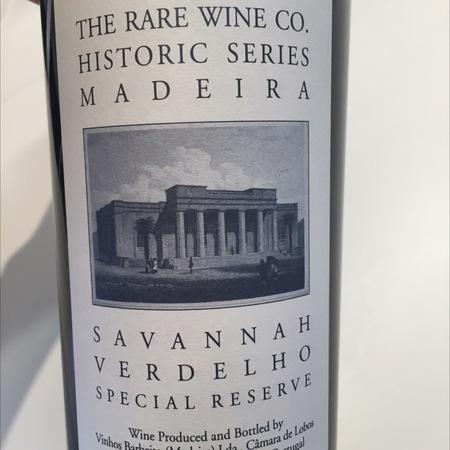 Vinhos Barbeito Rare Wine Co. Historic Series Special Reserve Madeira Savannah Verdelho NV