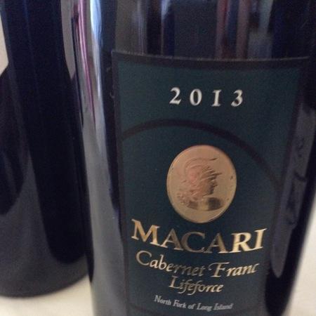 Macari Lifeforce Cabernet Franc 2015