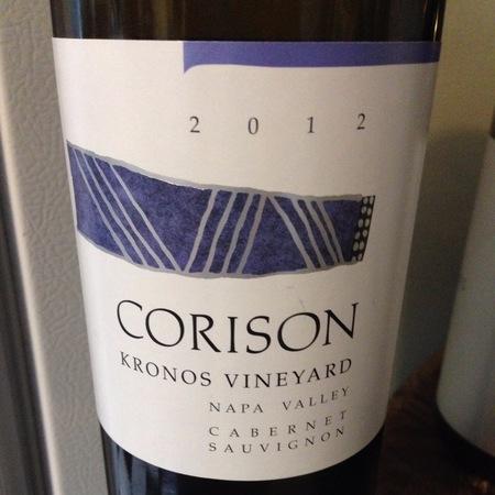 Corison Kronos Vineyard Cabernet Sauvignon 2012