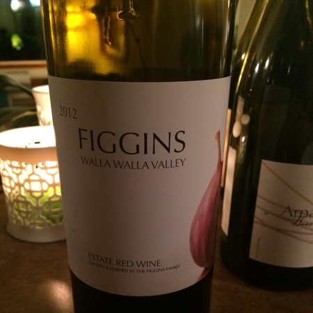 Figgins Estate Red Cabernet Sauvignon Blend 2012