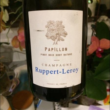 Ruppert-Leroy Papillon Champagne Brut Nature Pinot Noir 2014