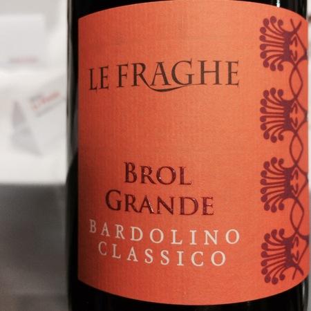 Le Fraghe Brol Grande Bardolino Classico Corvina Blend 2013