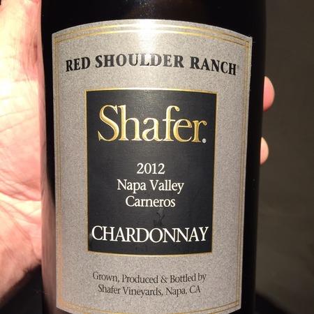 Shafer Red Shoulder Ranch Chardonnay 2015