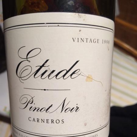 Etude Carneros Pinot Noir  2014