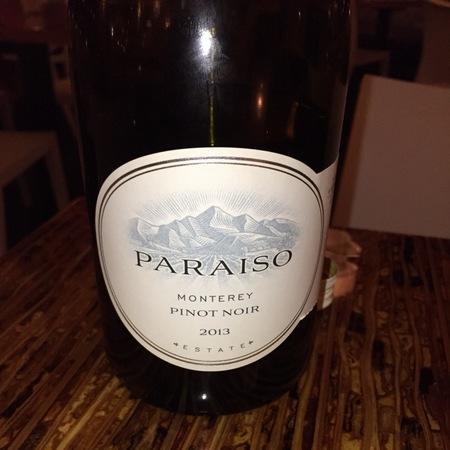 Paraiso Vineyards Estate Monterey Pinot Noir 2015