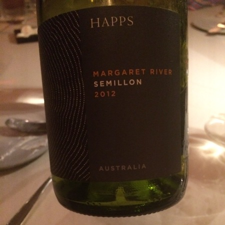 Happs Margaret River Semillon 2012