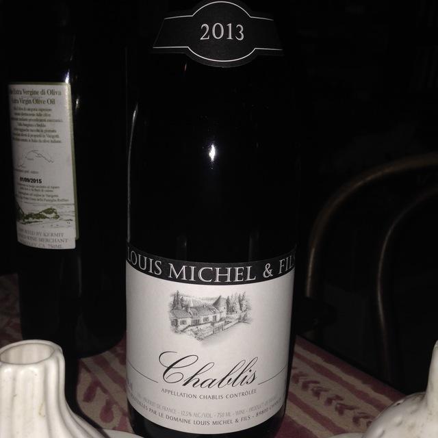 Chablis Chardonnay 2013