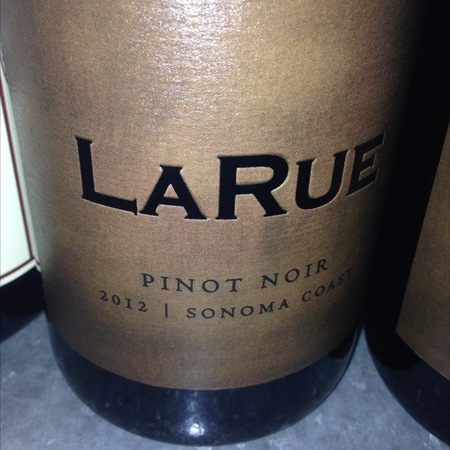 LaRue Wines Sonoma Coast Pinot Noir 2013