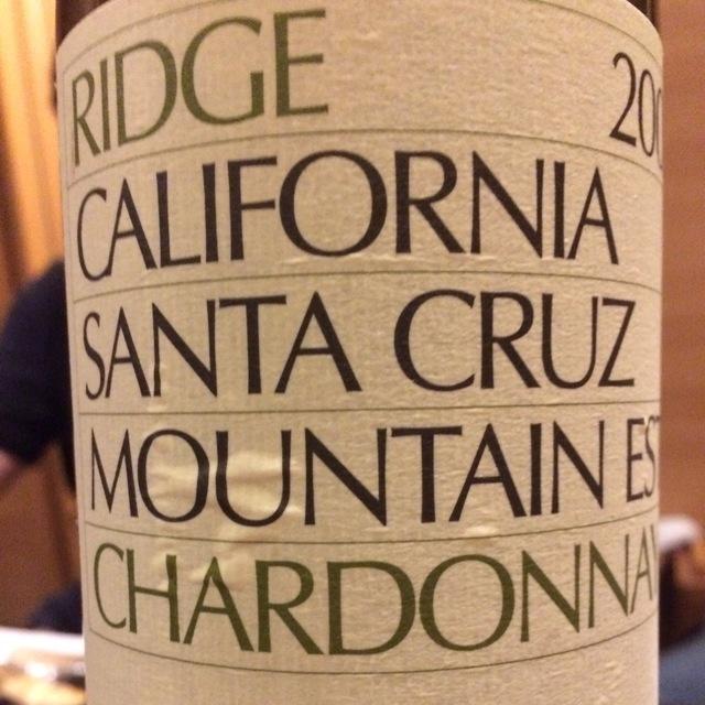 Santa Cruz Mountain Chardonnay 2014
