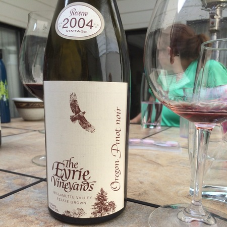 The Eyrie Vineyards  Willamette Valley Pinot Noir 2014