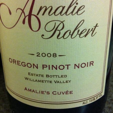 Amalie Robert Amalie's Cuvée Oregon Pinot Noir 2008