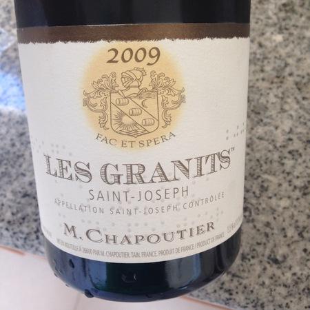 """M. Chapoutier """"Les Granits"""" Saint Joseph Syrah 2013"""